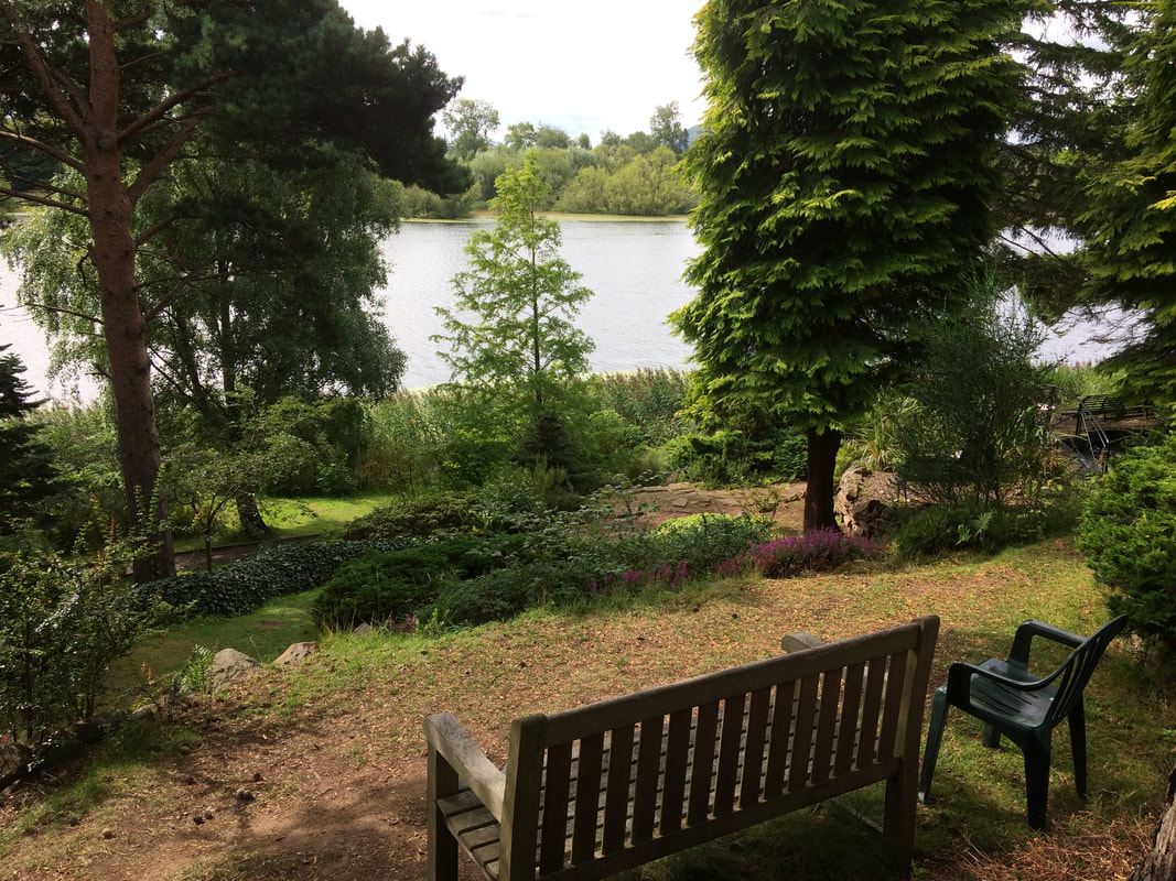 Dr Neil's Garden, overlooking Duddingston Loch