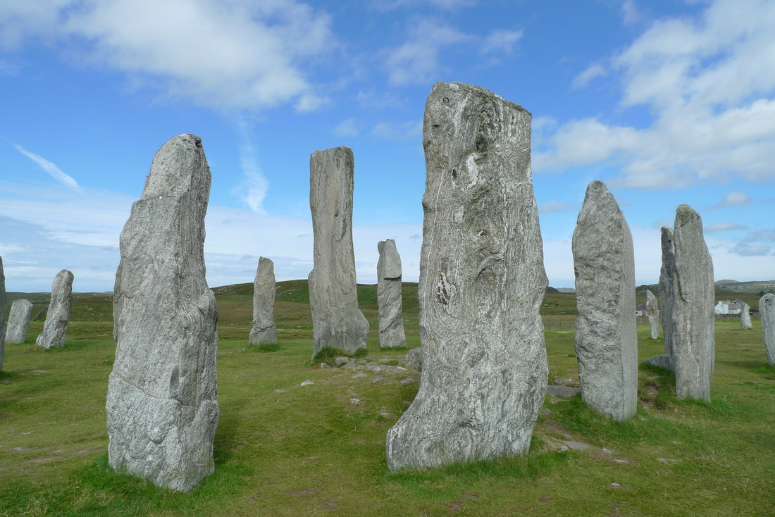 Callanish standing stones on Lewis