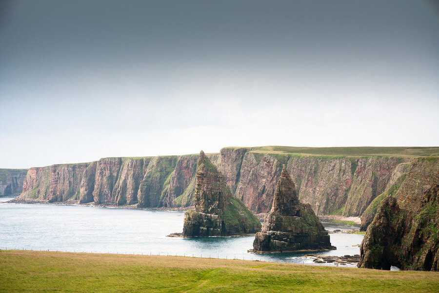 Duncansby Head near John O'Groats. Image by Visit Scotland visitscotland.com