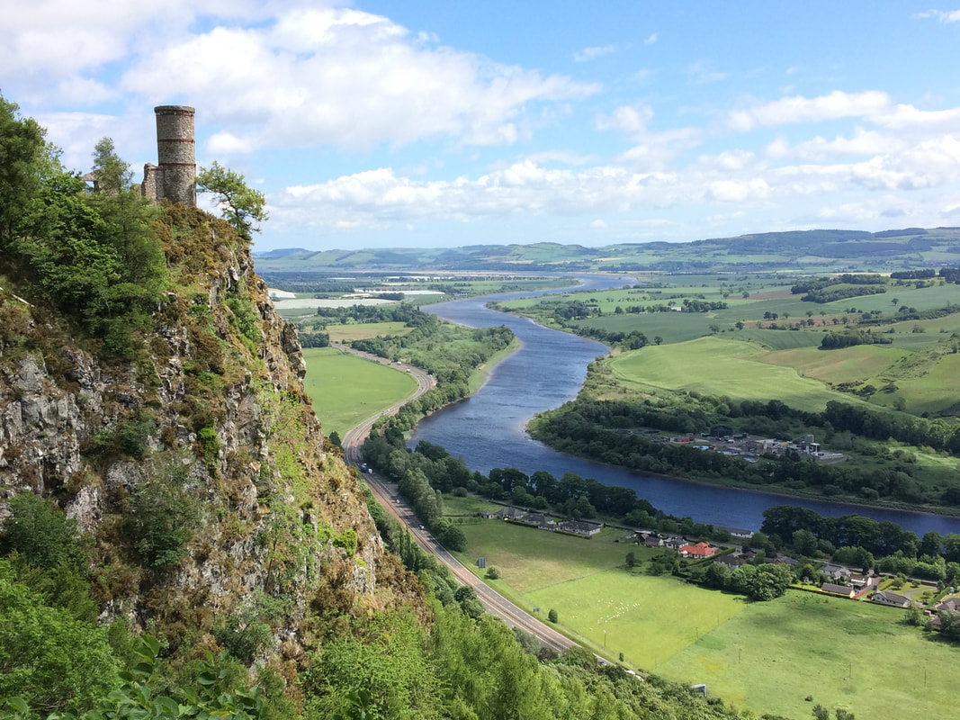 Kinnoull Hill view