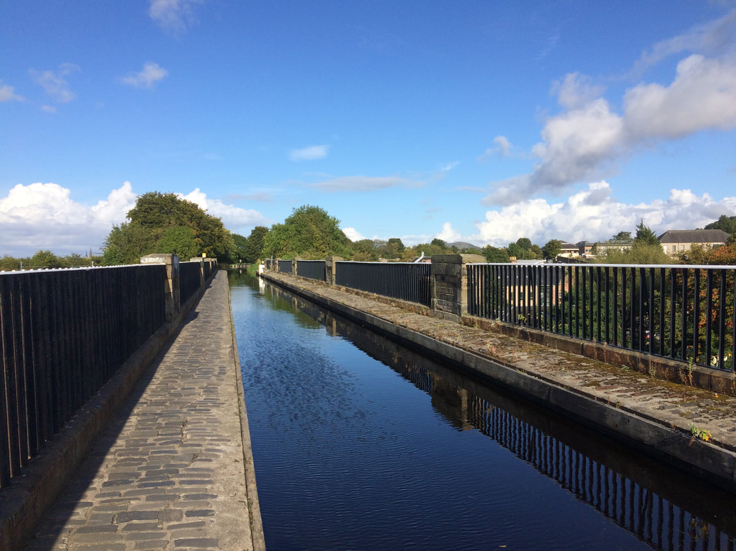 Slateford Aqueduct on the Union Canal