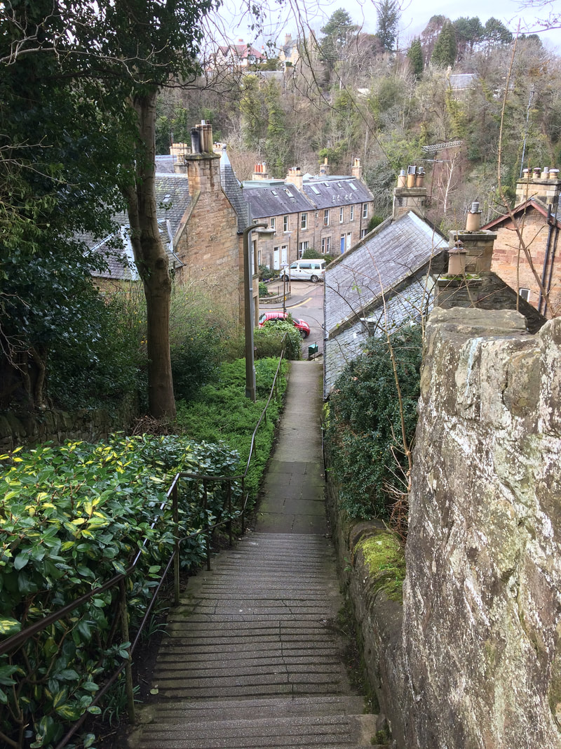 The Long Steps in Colinton
